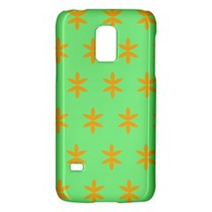 Flower Floral Different Colours Green Orange Galaxy S5 Mini by Alisyart