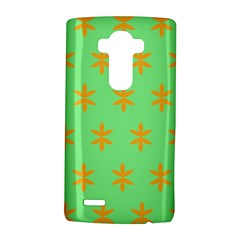 Flower Floral Different Colours Green Orange Lg G4 Hardshell Case