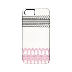 Crown King Quinn Chevron Wave Pink Black Apple Iphone 5 Classic Hardshell Case (pc+silicone) by Alisyart