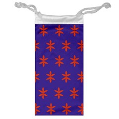 Flower Floral Different Colours Purple Orange Jewelry Bag by Alisyart
