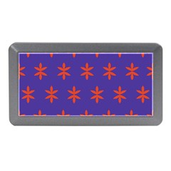 Flower Floral Different Colours Purple Orange Memory Card Reader (mini) by Alisyart