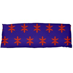 Flower Floral Different Colours Purple Orange Body Pillow Case Dakimakura (two Sides) by Alisyart