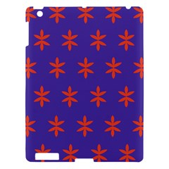 Flower Floral Different Colours Purple Orange Apple Ipad 3/4 Hardshell Case by Alisyart