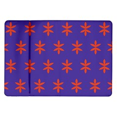 Flower Floral Different Colours Purple Orange Samsung Galaxy Tab 10 1  P7500 Flip Case