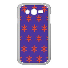 Flower Floral Different Colours Purple Orange Samsung Galaxy Grand Duos I9082 Case (white) by Alisyart