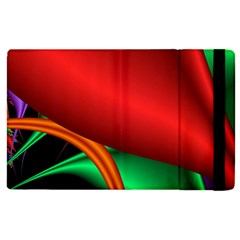 Fractal Construction Apple Ipad 3/4 Flip Case by Simbadda