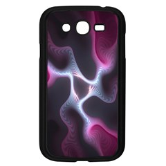 Colorful Fractal Background Samsung Galaxy Grand Duos I9082 Case (black) by Simbadda