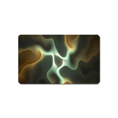 Colorful Fractal Background Magnet (name Card)