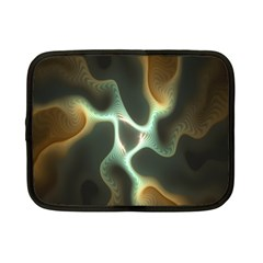 Colorful Fractal Background Netbook Case (small)  by Simbadda