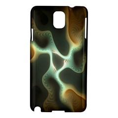 Colorful Fractal Background Samsung Galaxy Note 3 N9005 Hardshell Case by Simbadda