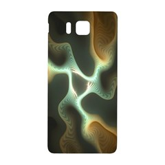 Colorful Fractal Background Samsung Galaxy Alpha Hardshell Back Case by Simbadda
