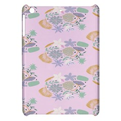 Floral Flower Rose Sunflower Star Leaf Pink Green Blue Apple Ipad Mini Hardshell Case by Alisyart