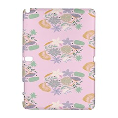 Floral Flower Rose Sunflower Star Leaf Pink Green Blue Galaxy Note 1