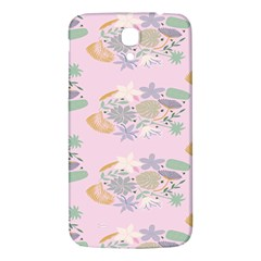 Floral Flower Rose Sunflower Star Leaf Pink Green Blue Samsung Galaxy Mega I9200 Hardshell Back Case