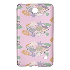 Floral Flower Rose Sunflower Star Leaf Pink Green Blue Samsung Galaxy Tab 4 (8 ) Hardshell Case  by Alisyart