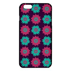 Flower Floral Rose Sunflower Purple Blue Iphone 6 Plus/6s Plus Tpu Case by Alisyart