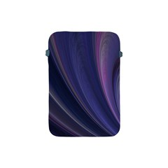 Purple Fractal Apple Ipad Mini Protective Soft Cases by Simbadda