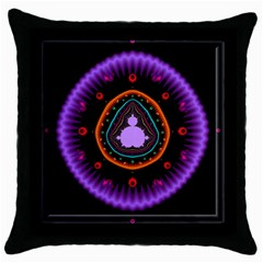 Hypocloid Throw Pillow Case (black) by Simbadda