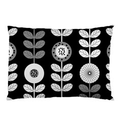 Floral Pattern Seamless Background Pillow Case by Simbadda