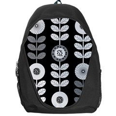 Floral Pattern Seamless Background Backpack Bag by Simbadda