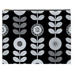 Floral Pattern Seamless Background Cosmetic Bag (xxxl)