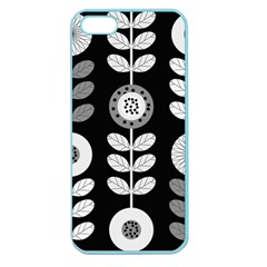 Floral Pattern Seamless Background Apple Seamless Iphone 5 Case (color) by Simbadda