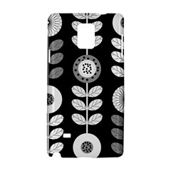 Floral Pattern Seamless Background Samsung Galaxy Note 4 Hardshell Case by Simbadda
