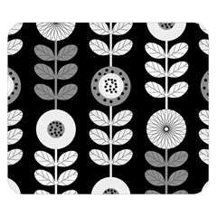 Floral Pattern Seamless Background Double Sided Flano Blanket (small)  by Simbadda