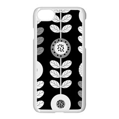 Floral Pattern Seamless Background Apple Iphone 7 Seamless Case (white)
