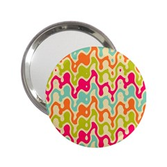 Abstract Pattern Colorful Wallpaper 2 25  Handbag Mirrors by Simbadda