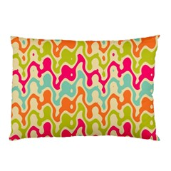 Abstract Pattern Colorful Wallpaper Pillow Case by Simbadda