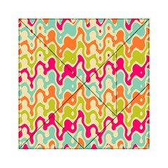 Abstract Pattern Colorful Wallpaper Acrylic Tangram Puzzle (6  X 6 ) by Simbadda