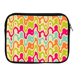 Abstract Pattern Colorful Wallpaper Apple Ipad 2/3/4 Zipper Cases by Simbadda