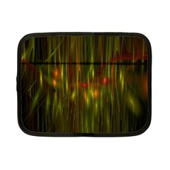 Fractal Rain Netbook Case (small)  by Simbadda