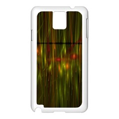 Fractal Rain Samsung Galaxy Note 3 N9005 Case (white) by Simbadda