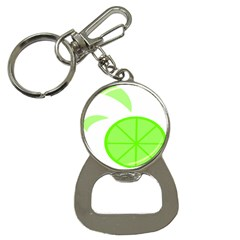 Fruit Lime Green Button Necklaces