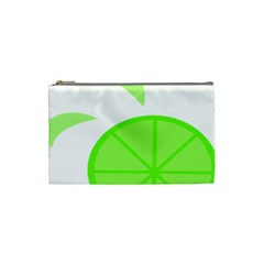 Fruit Lime Green Cosmetic Bag (small)  by Alisyart