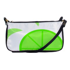 Fruit Lime Green Shoulder Clutch Bags