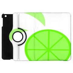 Fruit Lime Green Apple Ipad Mini Flip 360 Case by Alisyart