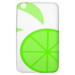 Fruit Lime Green Samsung Galaxy Tab 3 (8 ) T3100 Hardshell Case  by Alisyart
