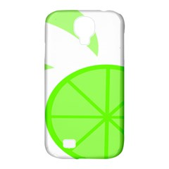 Fruit Lime Green Samsung Galaxy S4 Classic Hardshell Case (pc+silicone)