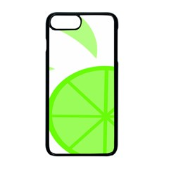 Fruit Lime Green Apple Iphone 7 Plus Seamless Case (black)