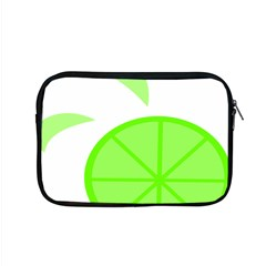Fruit Lime Green Apple Macbook Pro 15  Zipper Case by Alisyart