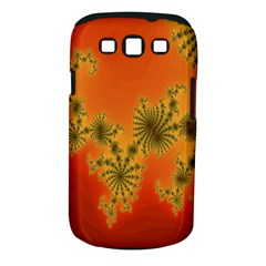 Decorative Fractal Spiral Samsung Galaxy S Iii Classic Hardshell Case (pc+silicone) by Simbadda