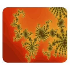 Decorative Fractal Spiral Double Sided Flano Blanket (small)  by Simbadda