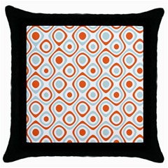 Pattern Background Abstract Throw Pillow Case (black) by Simbadda