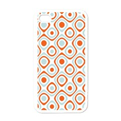 Pattern Background Abstract Apple Iphone 4 Case (white)