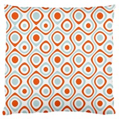 Pattern Background Abstract Large Cushion Case (one Side)