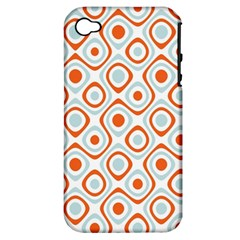 Pattern Background Abstract Apple Iphone 4/4s Hardshell Case (pc+silicone) by Simbadda