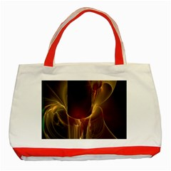 Fractal Image Classic Tote Bag (red) by Simbadda